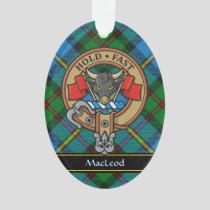 Clan MacLeod Crest Ornament