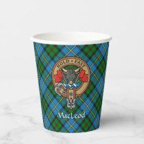 Clan MacLeod Crest Paper Cups