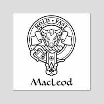Clan MacLeod Crest Self-inking Stamp