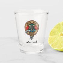 Clan MacLeod Crest Shot Glass