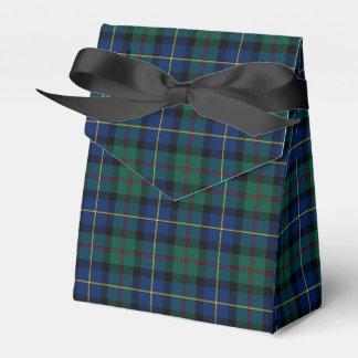 Clan MacLeod del tartán de Skye Cajas Para Regalos De Boda