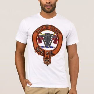Clan MacLeod Family Crest and Targe T-Shirt