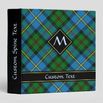 Clan MacLeod Hunting Tartan 3 Ring Binder