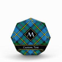 Clan MacLeod Hunting Tartan Acrylic Award