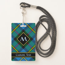 Clan MacLeod Hunting Tartan Badge