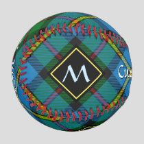 Clan MacLeod Hunting Tartan Baseball