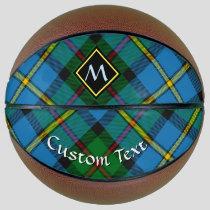 Clan MacLeod Hunting Tartan Basketball