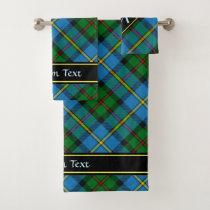 Clan MacLeod Hunting Tartan Bath Towel Set