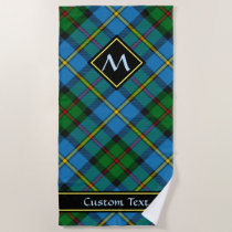 Clan MacLeod Hunting Tartan Beach Towel