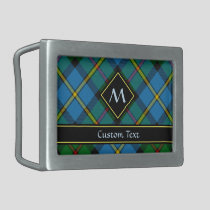 Clan MacLeod Hunting Tartan Belt Buckle