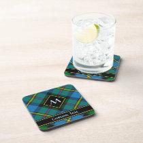Clan MacLeod Hunting Tartan Beverage Coaster