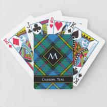 Clan MacLeod Hunting Tartan Bicycle Playing Cards