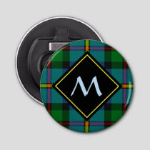 Clan MacLeod Hunting Tartan Bottle Opener