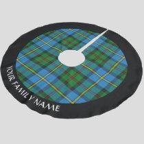 Clan MacLeod Hunting Tartan Brushed Polyester Tree Skirt