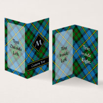 Clan MacLeod Hunting Tartan Business Card
