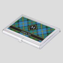 Clan MacLeod Hunting Tartan Business Card Case