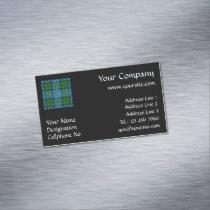Clan MacLeod Hunting Tartan Business Card Magnet