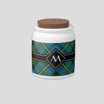Clan MacLeod Hunting Tartan Candy Jar