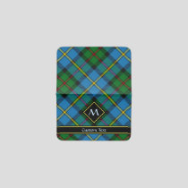 Clan MacLeod Hunting Tartan Card Holder
