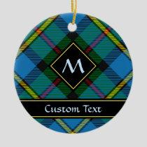 Clan MacLeod Hunting Tartan Ceramic Ornament