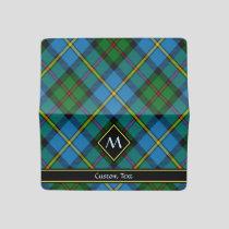 Clan MacLeod Hunting Tartan Checkbook Cover
