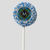 Clan MacLeod Hunting Tartan Chocolate Covered Oreo Pop