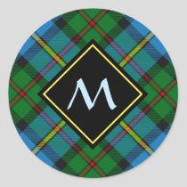 Clan MacLeod Hunting Tartan Classic Round Sticker