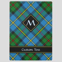 Clan MacLeod Hunting Tartan Clipboard