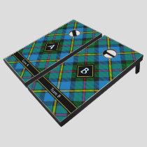 Clan MacLeod Hunting Tartan Cornhole Set