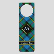 Clan MacLeod Hunting Tartan Door Hanger