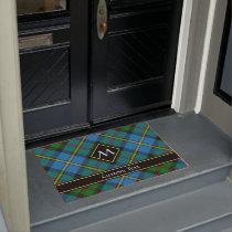 Clan MacLeod Hunting Tartan Doormat