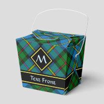 Clan MacLeod Hunting Tartan Favor Box