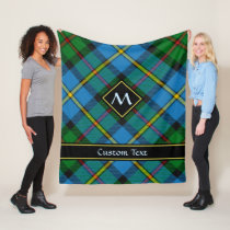 Clan MacLeod Hunting Tartan Fleece Blanket