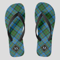 Clan MacLeod Hunting Tartan Flip Flops