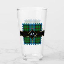 Clan MacLeod Hunting Tartan Glass