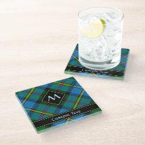 Clan MacLeod Hunting Tartan Glass Coaster