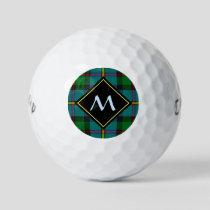 Clan MacLeod Hunting Tartan Golf Balls