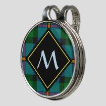 Clan MacLeod Hunting Tartan Golf Hat Clip