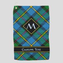 Clan MacLeod Hunting Tartan Golf Towel