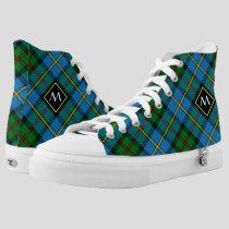 Clan MacLeod Hunting Tartan High-Top Sneakers