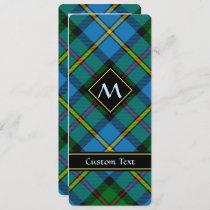 Clan MacLeod Hunting Tartan Invitation