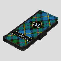 Clan MacLeod Hunting Tartan iPhone 8/7 Wallet Case