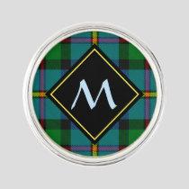 Clan MacLeod Hunting Tartan Lapel Pin