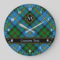 Clan MacLeod Hunting Tartan Large Clock
