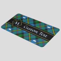 Clan MacLeod Hunting Tartan License Plate