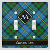 Clan MacLeod Hunting Tartan Light Switch Cover