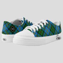 Clan MacLeod Hunting Tartan Low-Top Sneakers