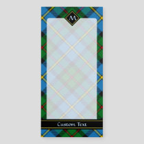 Clan MacLeod Hunting Tartan Magnetic Notepad