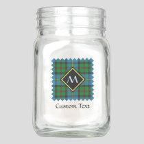 Clan MacLeod Hunting Tartan Mason Jar