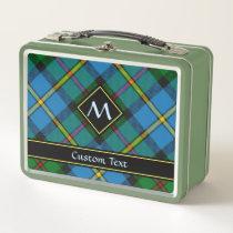 Clan MacLeod Hunting Tartan Metal Lunch Box